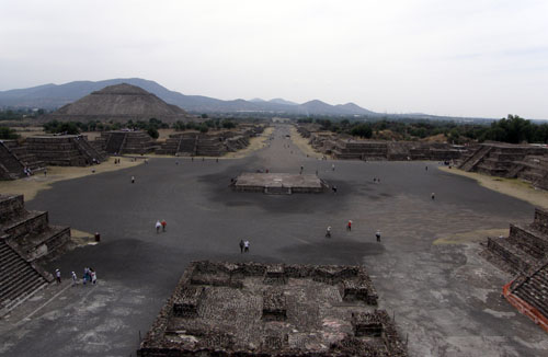 Teotihuacan: View from Temple of the Moon