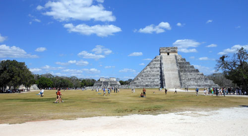 Chichen-Itza site
