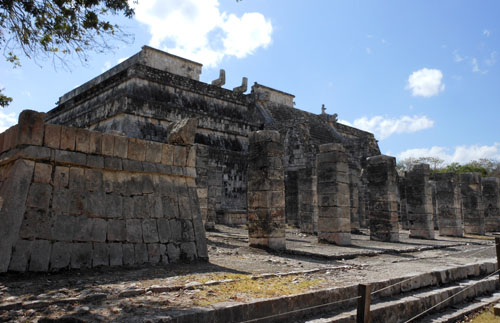 Chichen-Itza: Temple of the warriors