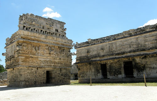 Chichen-Itza: The church