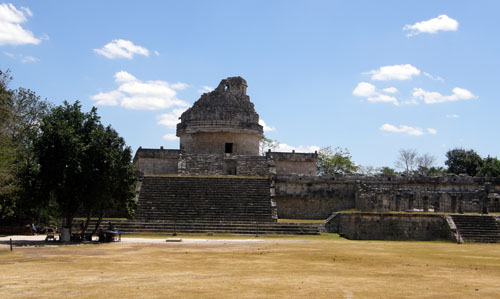 Chichen-Itza: The observatory