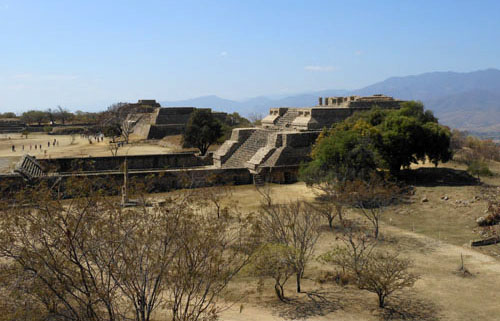 Views of Monte Alban