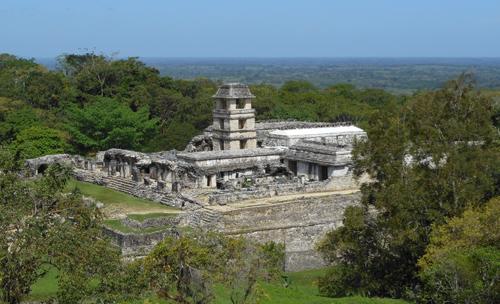 Palenque Ruins Palace