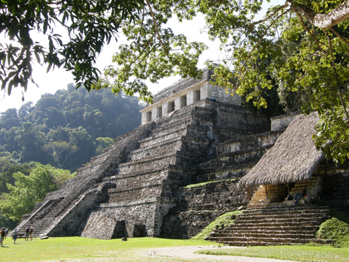 Palenque Ruins Temple of Inscriptions