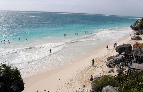 Tulum Ruins Beach