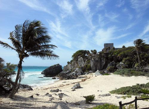 Tulum Ruins: El Castillo