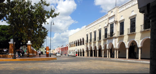 Valladolid main plaza