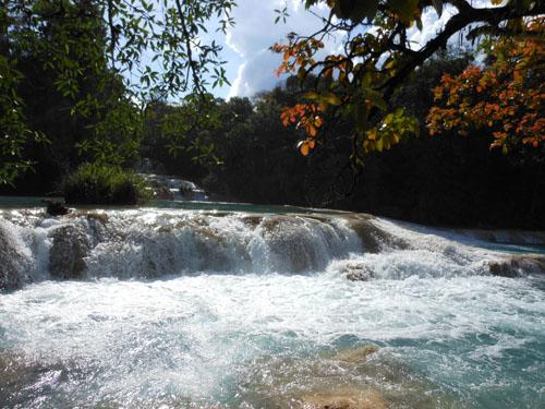 Agua Azul, Mexico - main cascades
