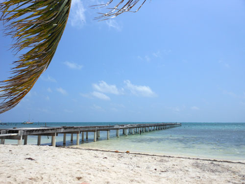 Caye Caulker, Belize - beach