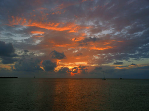 Caye Caulker, Belize - sunset number 4