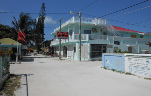 Caye Caulker Main Road