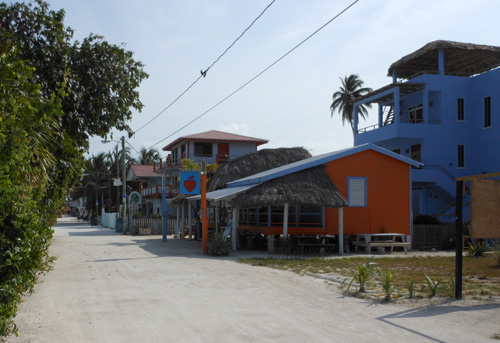 Caye Caulker Main Road 2