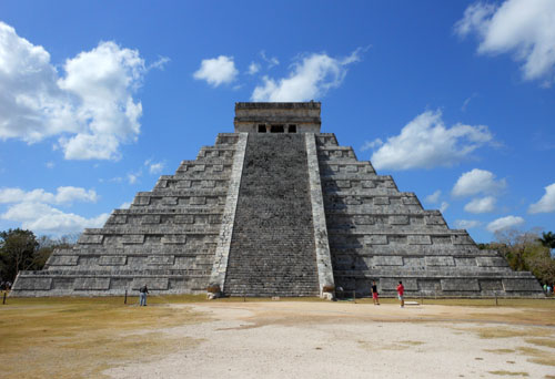 Chichen-Itza, Mexico - El Castillo