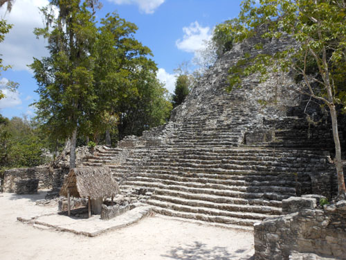 Coba, Mexico - the Iglesia in the Coba Group