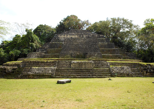 Lamanai, Belize - temple of the jaguar