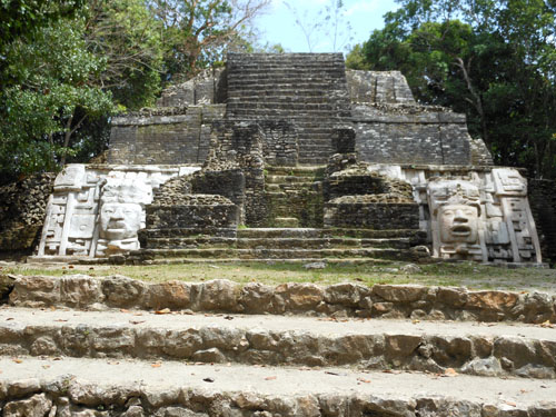 Lamanai, Belize - mask temple