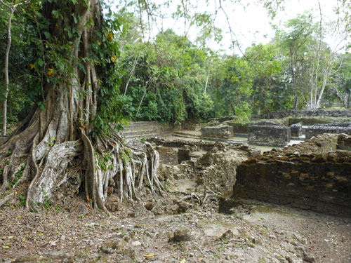 Lamanai, Belize - the royal complex