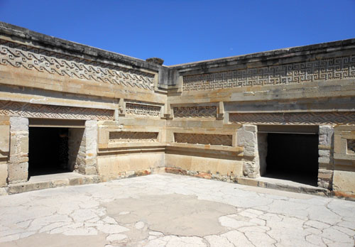 Mitla, Mexico - inside the palace
