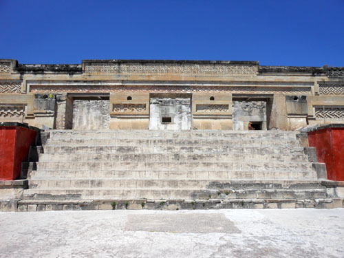 Mitla, Mexico - the palace