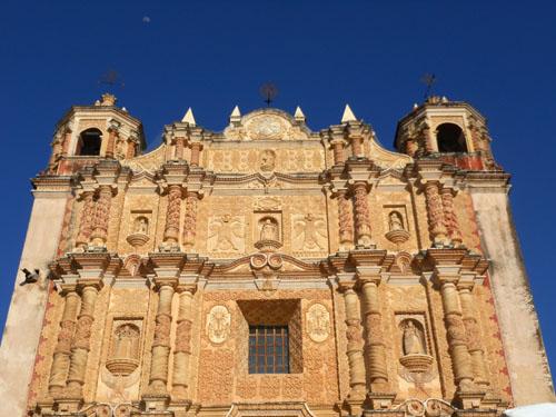 San Cristobal de Las Casas, Mexico - Santo Domingo facade