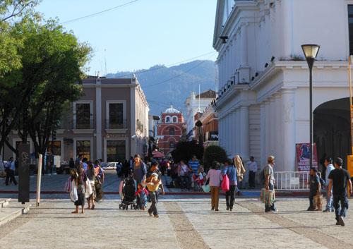 San Cristobal de Las Casas, Mexico - Avenida Crescancio Rosas