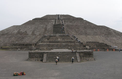 Teotihuacan, Mexico - the Pyramid of the Sun