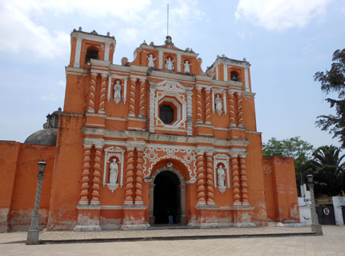 Antigua: iglesia de Jocotenango