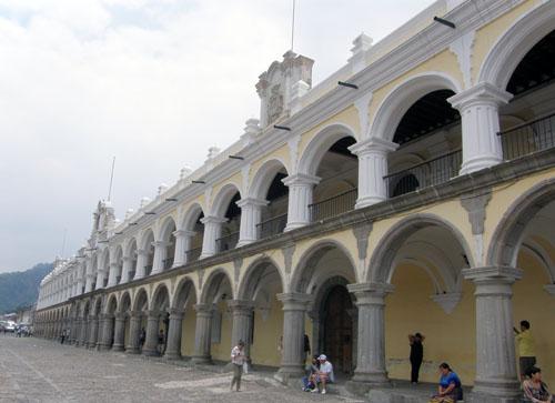 Antigua: Palacio de los Capitanes Generales