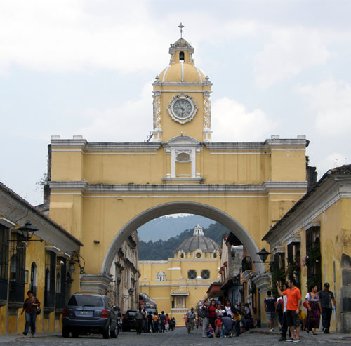 Antigua: the arch