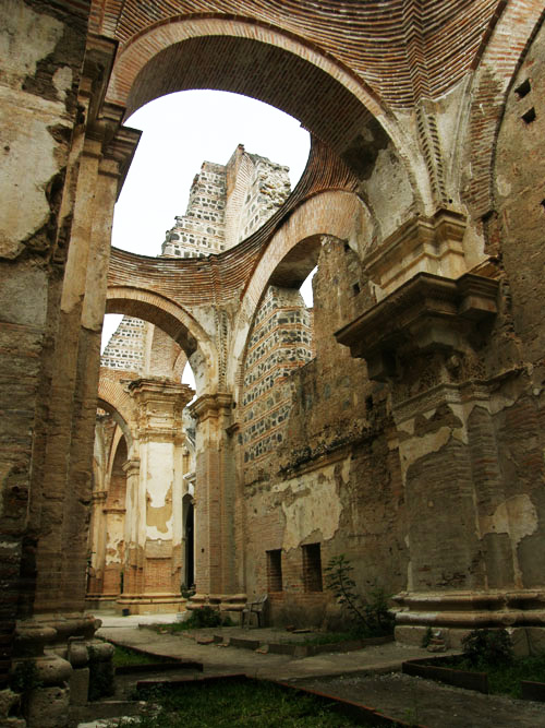 Antigua: Cathedral ruins