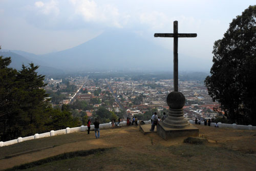 Antigua: view from the Cerro de la Cruz