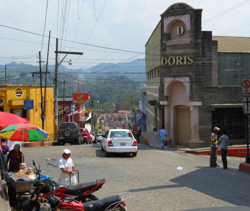 Coban: Town centre