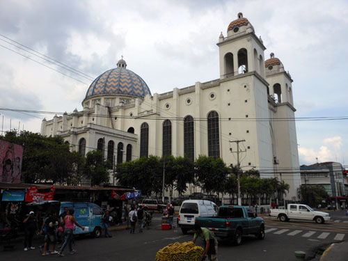 San Salvador historic centre cathedral