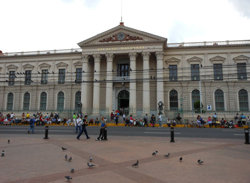 San Salvador historic centre palacio municipal