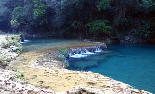 Semuc Champey: Main pool