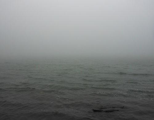 Cerro Chato: crater lake with no view