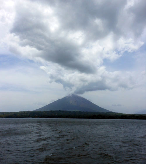 Ometepe island: leaving the island, ferry Moyogalpa to San Jorge