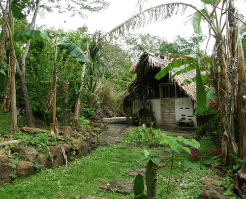 Ometepe Island: cabana in El Zopilote