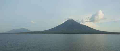 Ometepe Island: volcanos