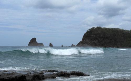 Playa Maderas: surf