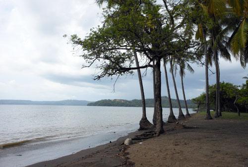 Playa Panama: empty beach