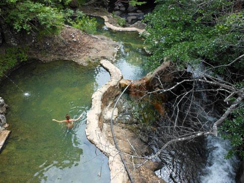 Rio Negro: hot springs near Rincon de la Vieja
