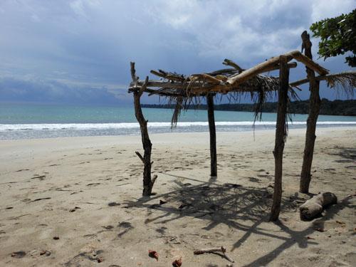 Cahuita National Park beach: a quiet spot