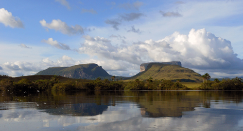 Canaima National Park boat ride to Angel Falls