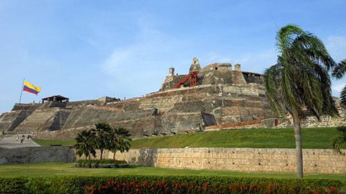 Cartagena: Castillo San Felipe de Barajas fortress