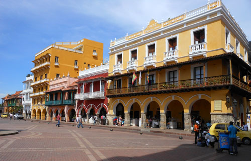 Cartagena: historic centre