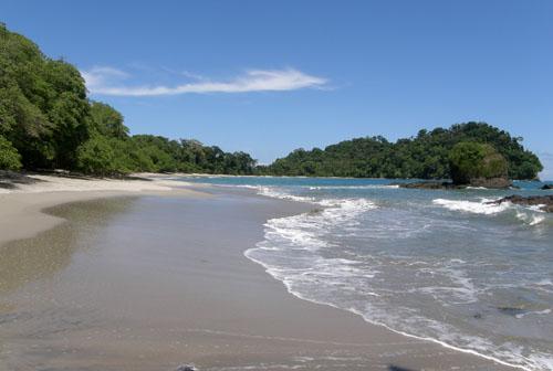 Costa Rica: Manuel Antonio National Park, Playa Espadilla south