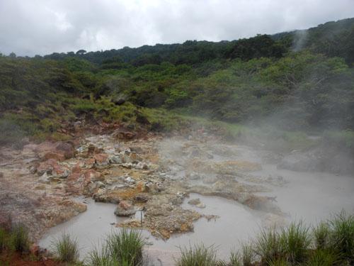 Costa Rica: Rincon de la Vieja, fumaroles field
