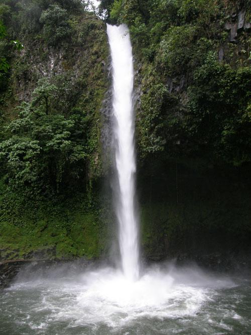 Costa Rica: Rio La Fortuna, main waterfall