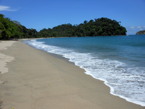 Manuel Antonio National Park: quiet beach